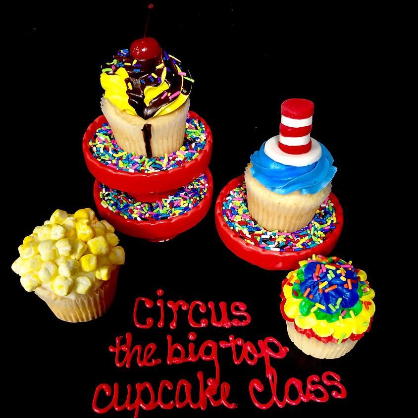 Cupcake Decorating Class - Circus 2:30pm