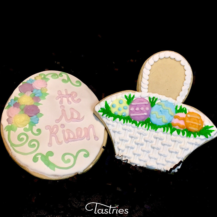 Cookie Decorating Class - He is Risen & Easter Basket