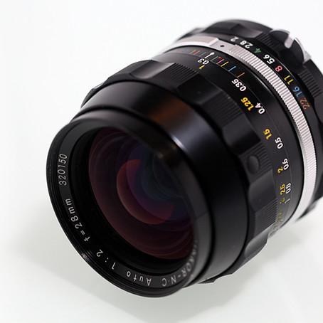 Nikkor -NC 28mm f/2 an Sony Nex und Canon EOS 5D Mark III