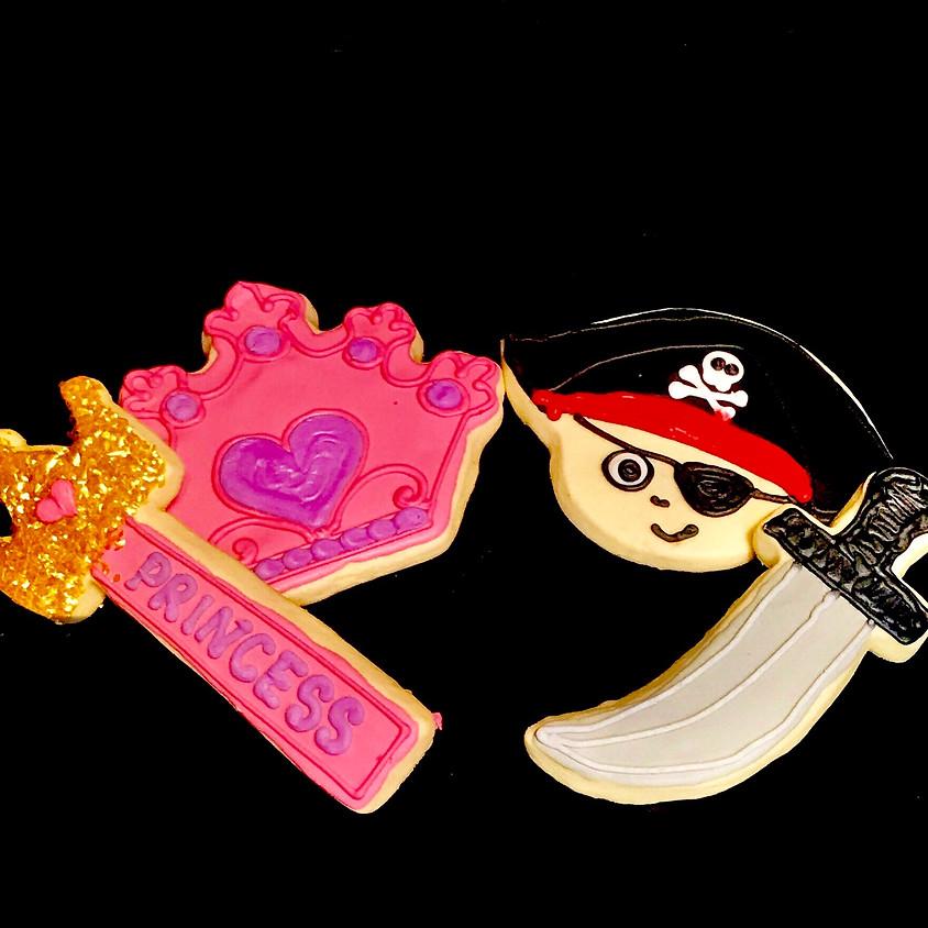 Cookie Decorating Class - Princess & Pirates 1:00 p.m.
