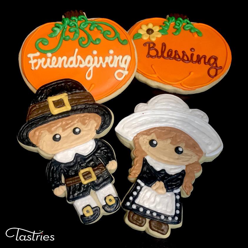 Cookie Decorating Class - Pilgrim & Pumpkin 12:30 p.m.
