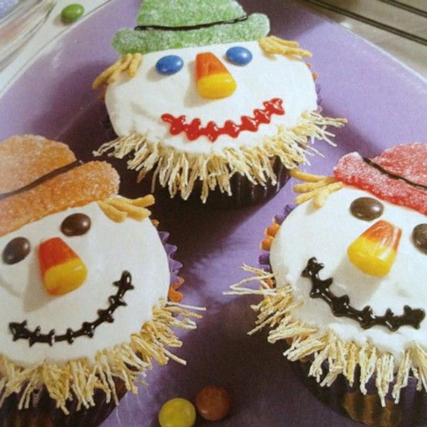 Cupcake Decorating Class - Owls & Scarecrows
