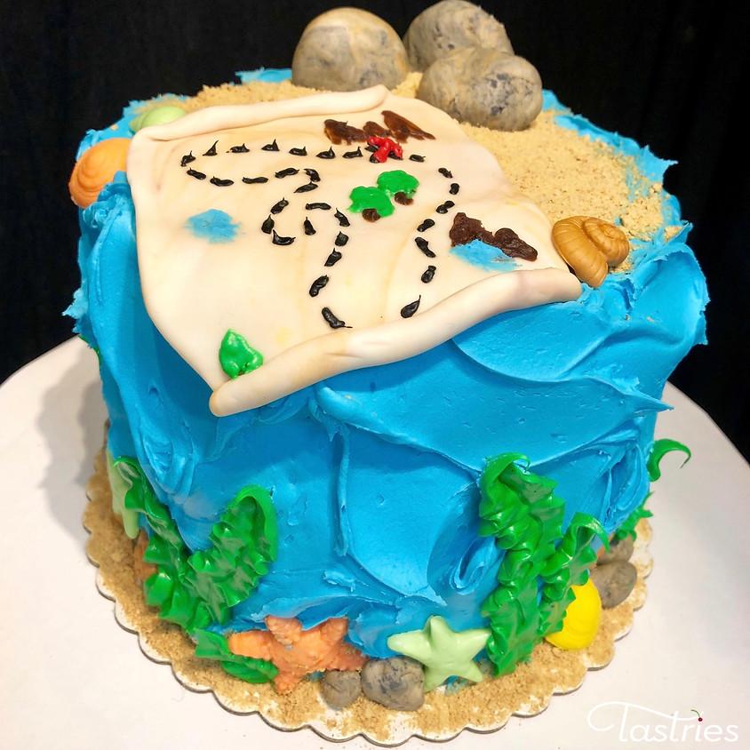 Cake Decorating Class - Beach/Map 5:30pm
