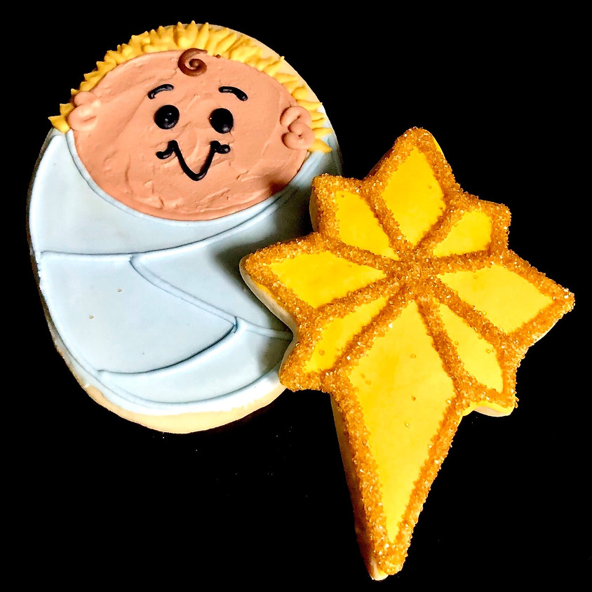 Cookie Decorating Class - Baby Jesus and the Star 2:30 p.m.