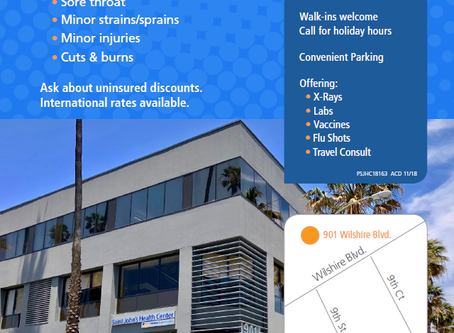 New URGENT CARE in Santa Monica!