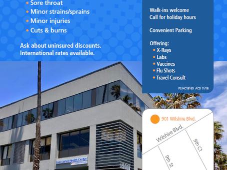 New URGENT CARE in Santa Monica!