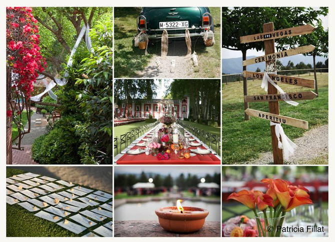 Primavera, la estación ideal para una boda.