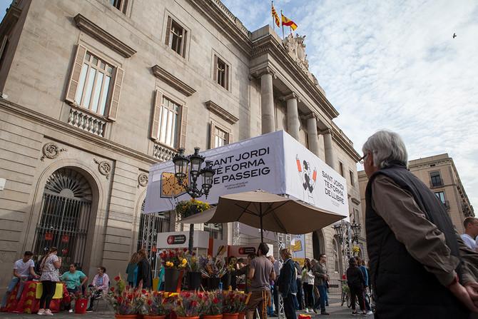 Fiesta de Sant Jordi en Cataluña