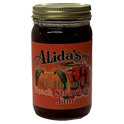 Peach Strawberry Jam