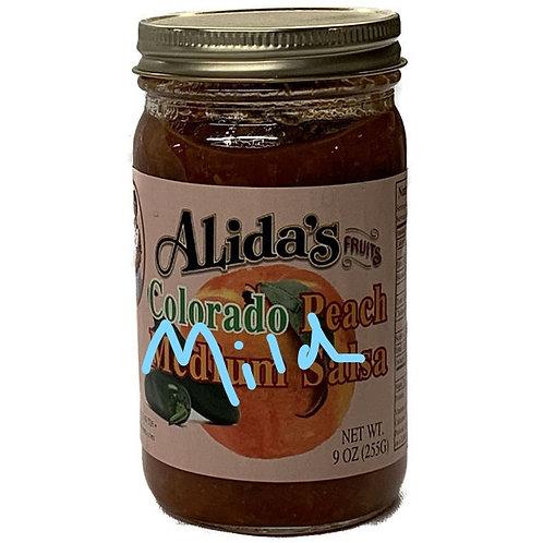 Mild Peach Salsa