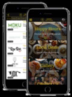 Hawaii Happy Hours App Home Screen