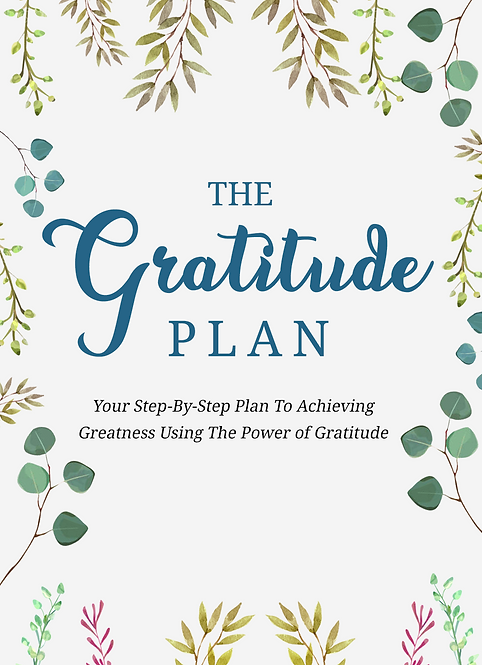 The Gratitude Plan - eBook Pack