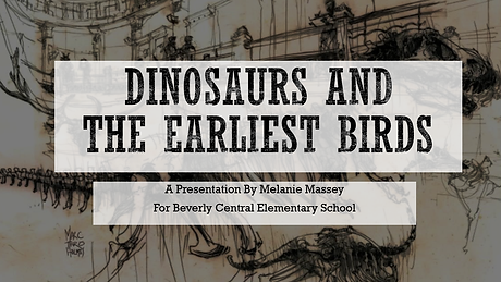 Dinosaur Lecture - Beverly Central Elementary School