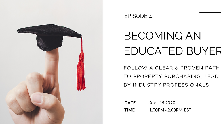 Becoming an Educated Buyer