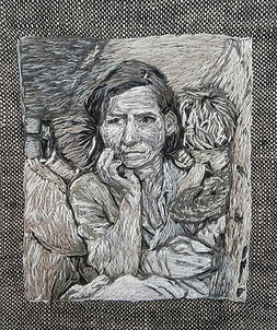 Migrant Mother-Dorothea Lange
