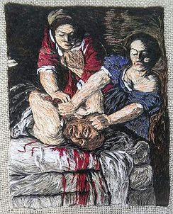 Judith Slaying Holofernes-Artemesia Gentileschi
