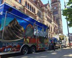 Rhinos City Hall Event