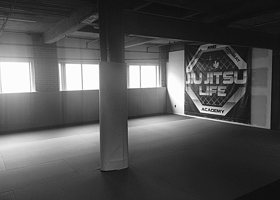 jiu jitsu life training area