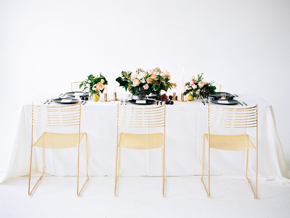 table setting modern