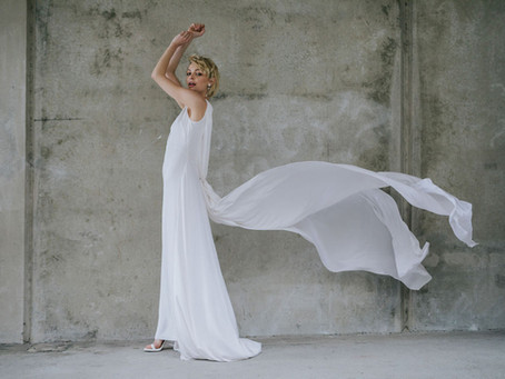 Modern Bridal Editorial in Auckland