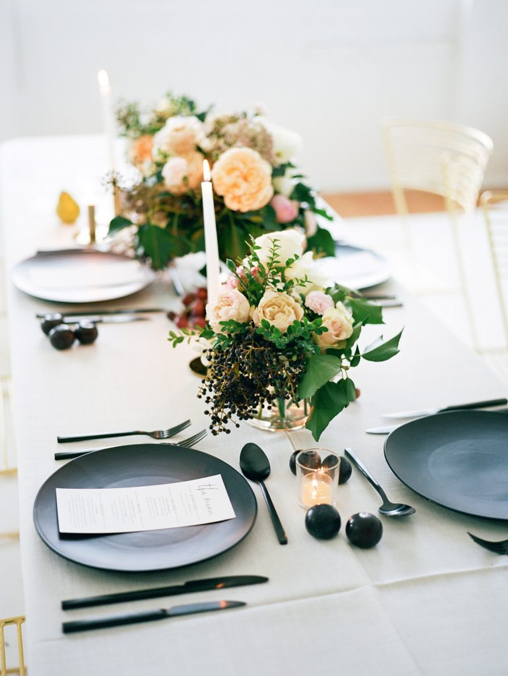 table setting modern