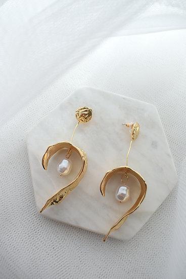 Sienna Art Deco Inspired Bridal Earring