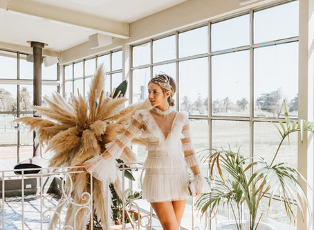 A Whimsical Bridal Shower Dress