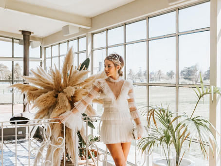 A Whimsical Bridal Shower Dress