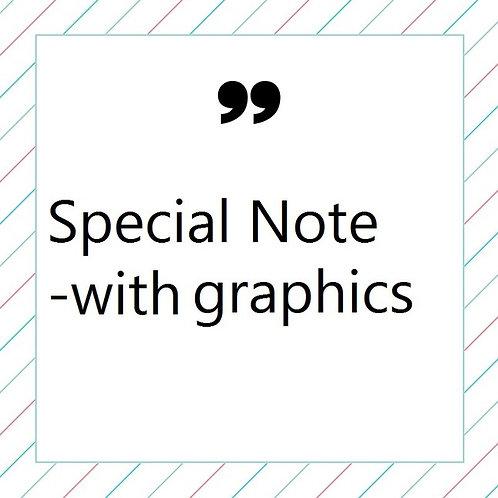 Special Note AD (Program Book)