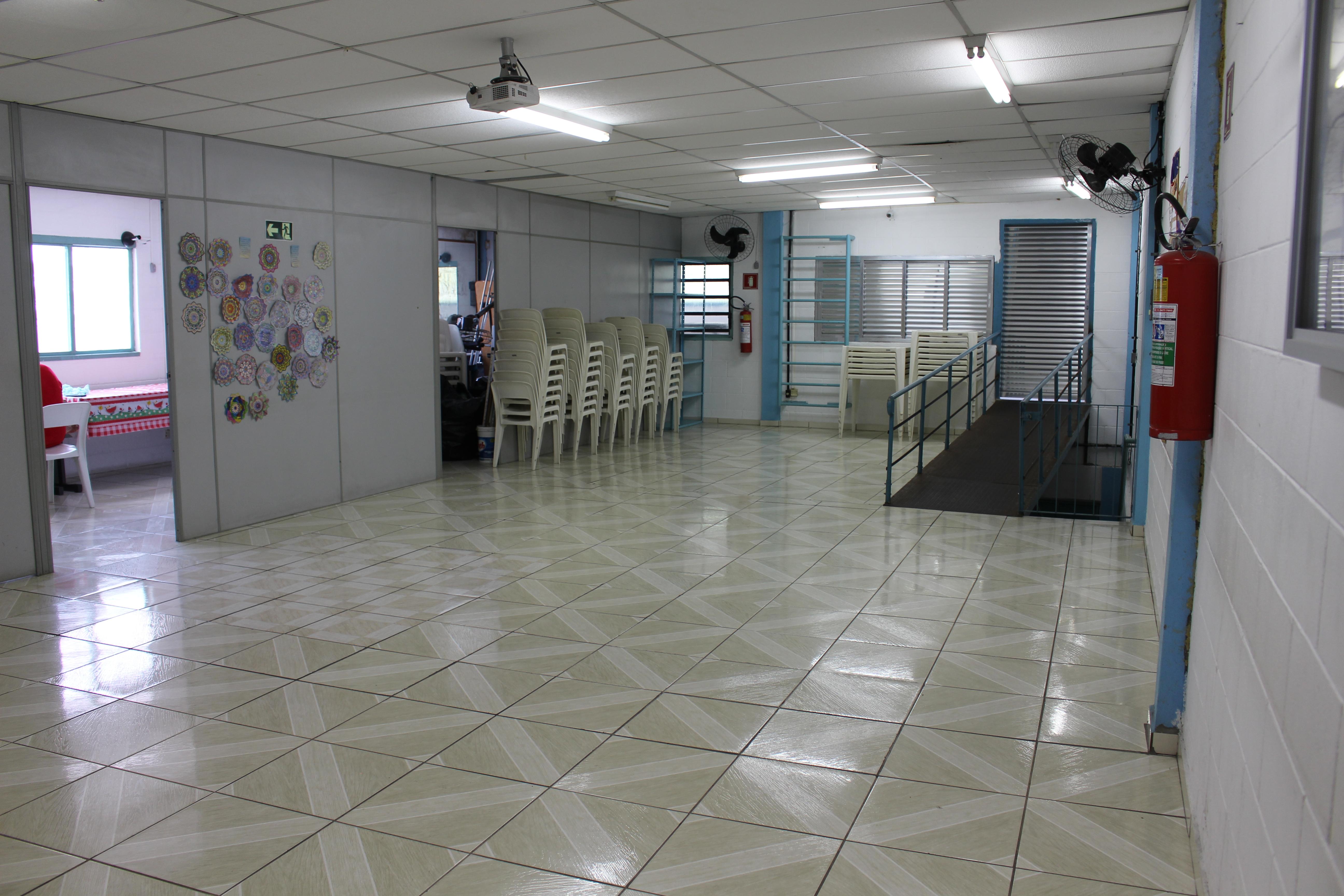 Sala do Núcleo de Convivência para os Idosos (NIC)