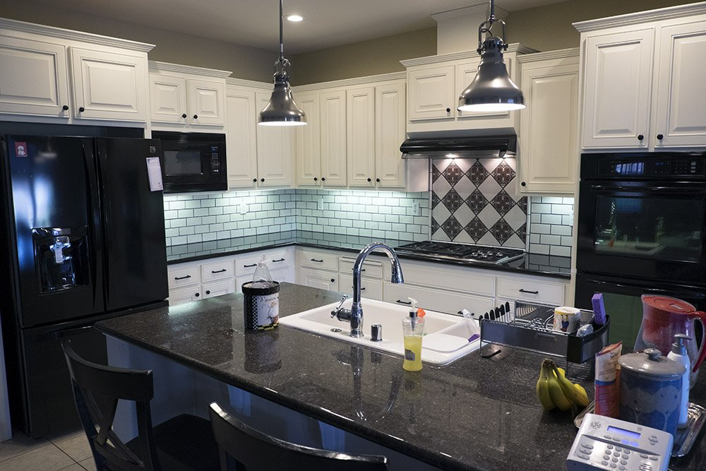 Fire Clay Tile Backsplash