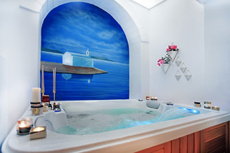 Spa tub for two persons