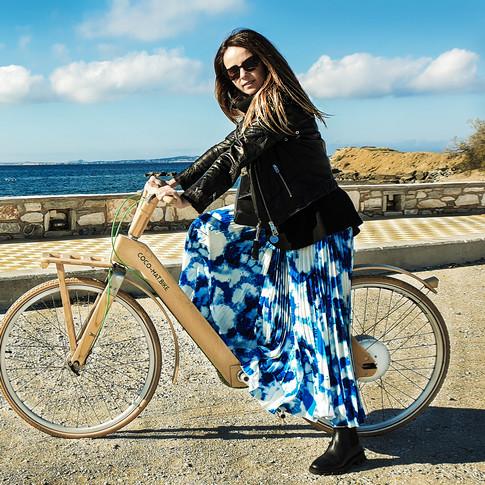 wooden E-bike @ Saint George