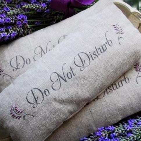 Pillow Aromatherapies & Menu