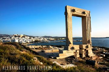 Portara, The Gate of Appolo's temple, 6 BC