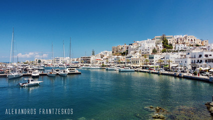 Naxos promenade & old city