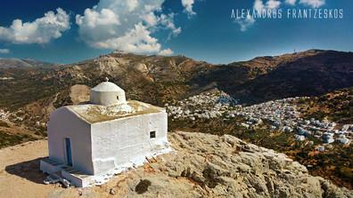 Agios Ioannis over Filoti Village