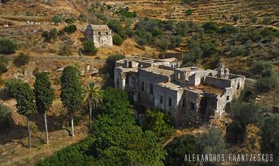 Kalamitsia Jesuit Monastery Naxos