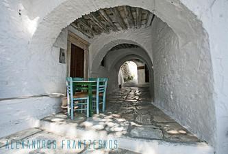 Apiranthos Village