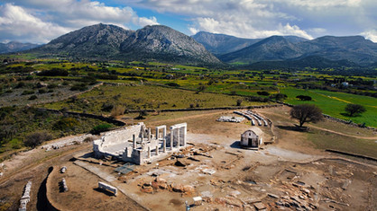Demeter's Temple Naxos