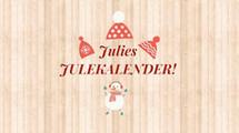 JULIES JULEKALENDER