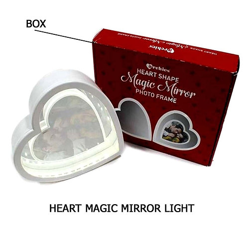 PERSONALIZED HEART MAGIC MIRROR LIGHT