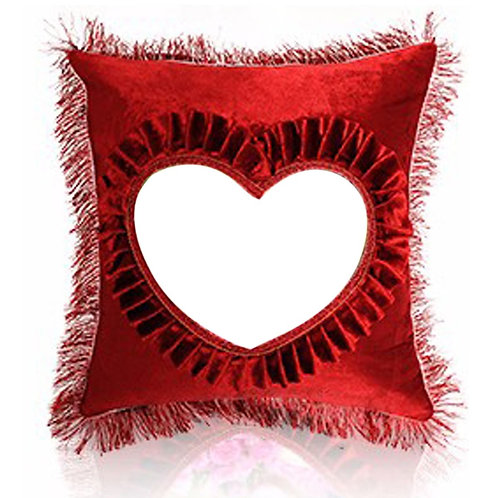 PERSONALIZED PILLOW SUEDE FABRIC