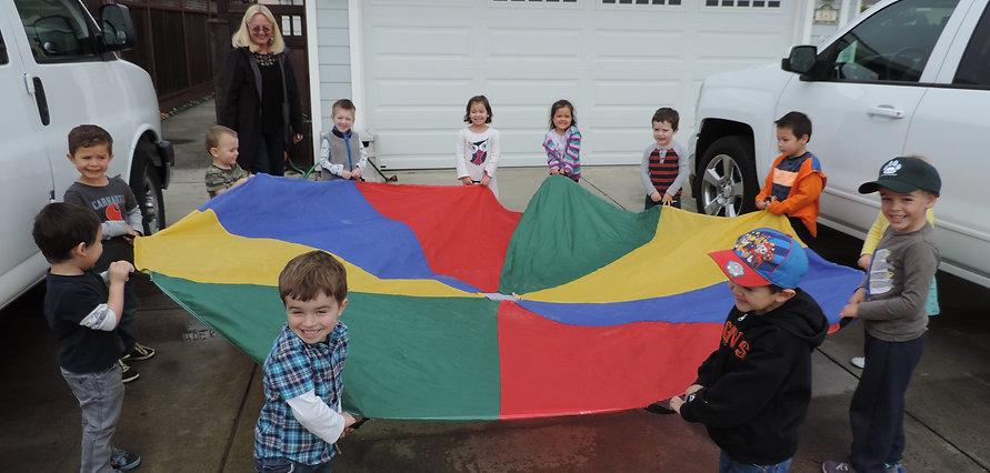 Kids Playing During Preschool