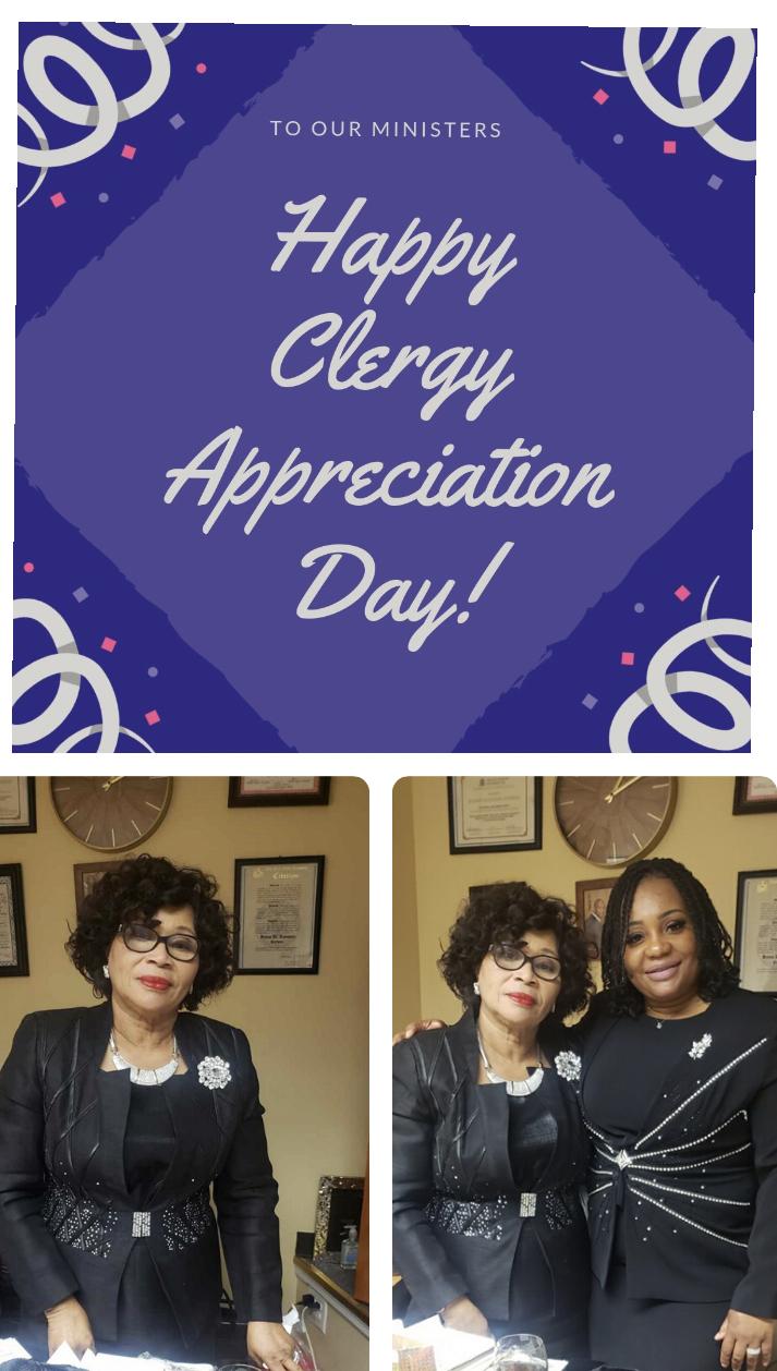 CLERGY APPRECIATION