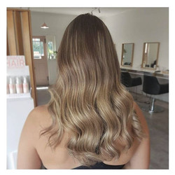 Balayage ✅ achieved by performing baby light foils & hair painting, We love using serveal techniques