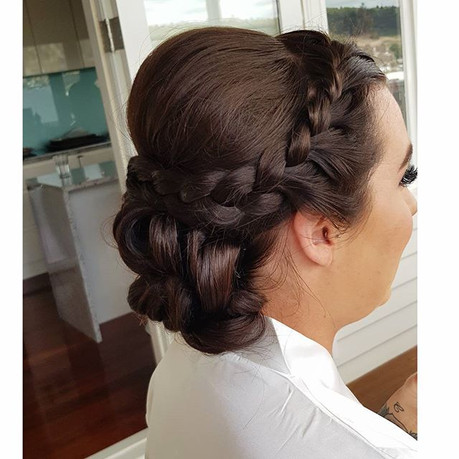 Wedding hair, for this amazing lady 😍😍