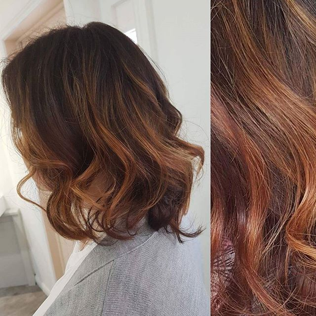 Copper tones done perfectly ✅  Created by Lauren 👌 ._._