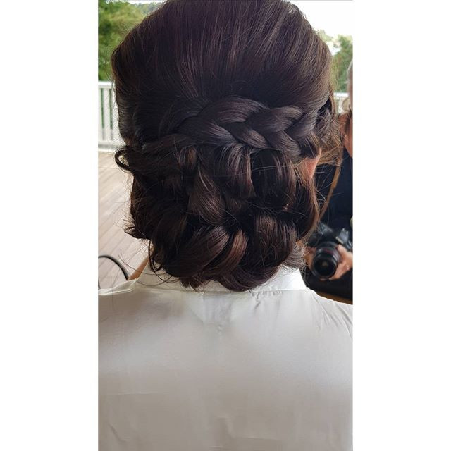 Wedding hair for this amazing lady 😍😍?