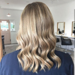Such a soft blend with warm and cool tones 👌 created by Mikayla 😍 ._._